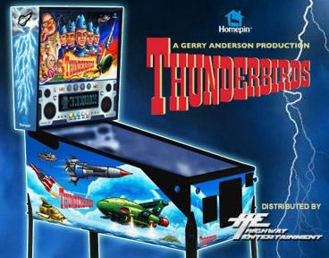 Homepin Thunderbirds Pinball