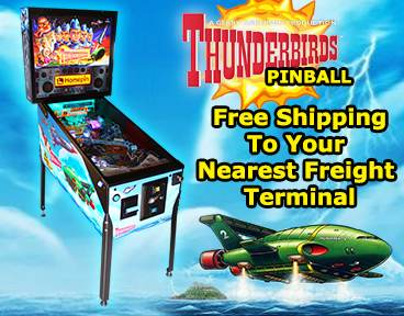 Free Freight To Terminal for Thunderbirds Pinball