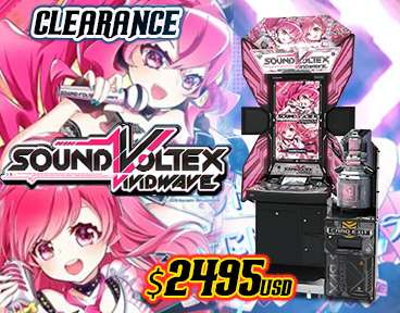 Sound Voltex V Clearance