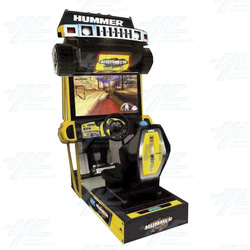 Sega Hummer SD Arcade Machine Now Available