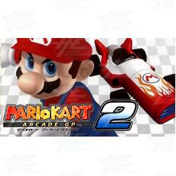 Mario Kart Arcade GP2 Driving Machine in stock!