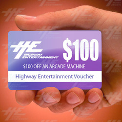 Latest Facebook Giveaway Started Today - Like & Share To Win $100 Off An Arcade Machine