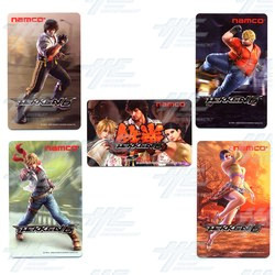 Super Hot Sale On Tekken 6 IC Card Cartons!