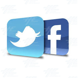 Connect With Us On Facebook and Twitter To Stay Up To Date With Special Arcade Offers!