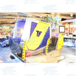 Clearance Pricing On Trans-Force Orion 5D Attraction 4 Seat Model - Machine Must Sell!!
