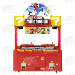 Super Mario Bros Wii Coin World Arcade Machine Available!