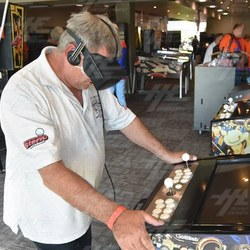 Virtual Reality Pinball at Back in Time Pop Culture Festival