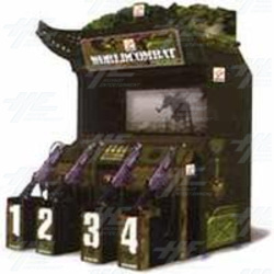 World Combat / Warzaid 4 Player Arcade Machines