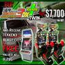 Buy Wangan Midnight Maximum Tune 3DX Plus Twin Machine and Receive Free Tekken 3 In Blast City Machine!!