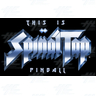 This is Spinal Tap Pinball available for Export Customers