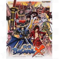 Sengoku Basara Cross Arcade Game Board Kit