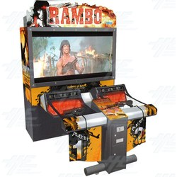 "Rambo DX 62"" Arcade Machine"