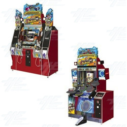 Guitar Freaks V6 + Drum Mania V6 Arcade Machine