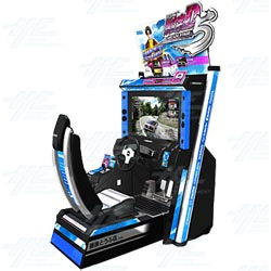 Initial D Ver. 5 Arcade Machine (2 Units plus Server)