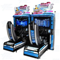 Initial D5 Twin Arcade Driving Machine