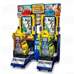 Tank! Tank! Tank! Twin Arcade Machine