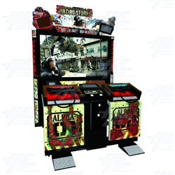Razing Storm (US Make) Arcade Machine