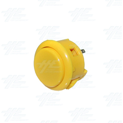 Sanwa Button OBSF-30 Yellow