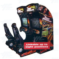 The Fast and The Furious Twin Arcade Machine