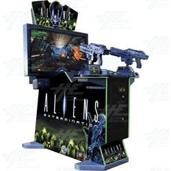 Aliens Extermination DX Arcade Machine
