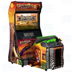 Big Buck Safari DX Arcade Machine