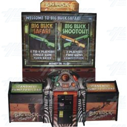 Big Buck Safari Super Deluxe Arcade Machine