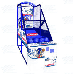 Sonic Sports Basketball Arcade Machine