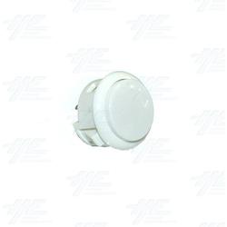 Arcade Pushbutton - White (China Made)