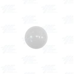 Arcade Joystick Ball Top - White