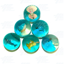 Bouncy Balls - Ocean Themed (45pcs)