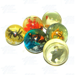 Bouncy Balls - Animal Themed (42pcs)