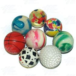 Bouncy Balls - Various Small Size (43pcs)