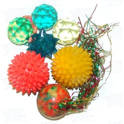 Bouncy Balls - Various Shapes (25pcs)