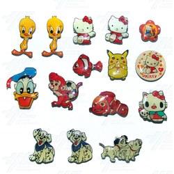 Magnets - Cartoon Characters (15pcs)