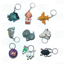 Keyrings - Medium Size - Assorted (130pcs)