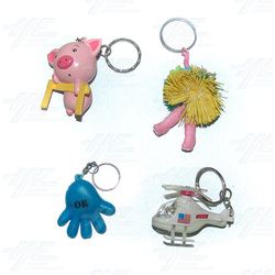 Keyrings - Medium Size - Assorted (75pcs)