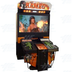 Rambo DX Arcade Machine