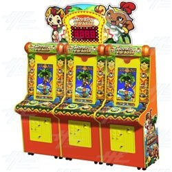 Monkey Paradise Redemption Machine (3 Player)