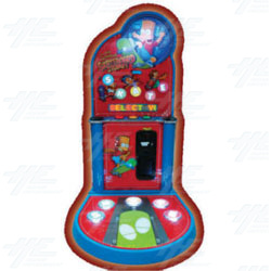 Simpsons Skateboard Stomp Redemption Machine