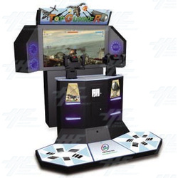 Top Gunner Simulator Shooter Arcade Machine