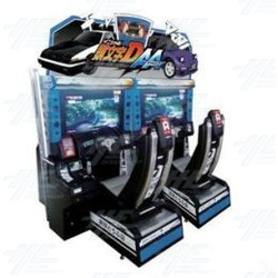 Initial D Arcade Stage 6AA Twin Arcade Machine