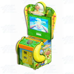Super Monkey Ball Ticket Blitz Redemption Machine