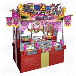 Spin Fever 2 Coin Pusher Medal Arcade Machine