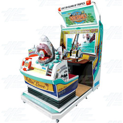 Let's Go Island Motion DX Arcade Machine