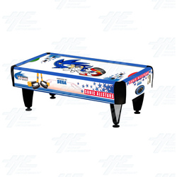 Sonic 2 Player Air Hockey Table