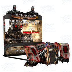 "Terminator Salvation SDX 100"" Arcade Machine"
