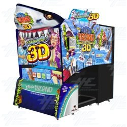 Let's Go Island 3D Arcade Machine