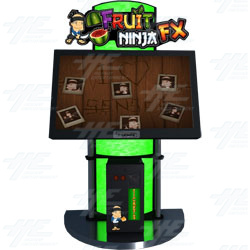 TouchFX Fruit Ninja Ticket Redemption Machine