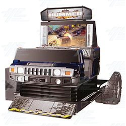Hummer DX Arcade Machine
