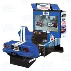 Ford Racing: Full Blown DX Arcade Machine